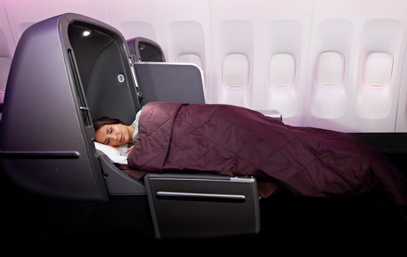 Qantas 747 Skybed
