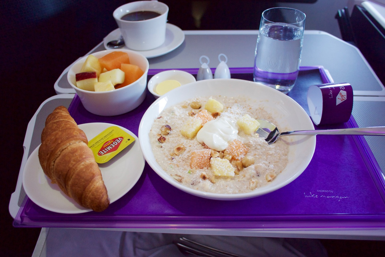 Virgin-Australia-A330-Business-Class-VA804-Breakfast | Point Hacks