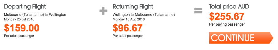 Jetstar NZ Sale Melbourne