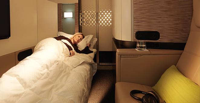 Etihad First Sleep | Point Hacks