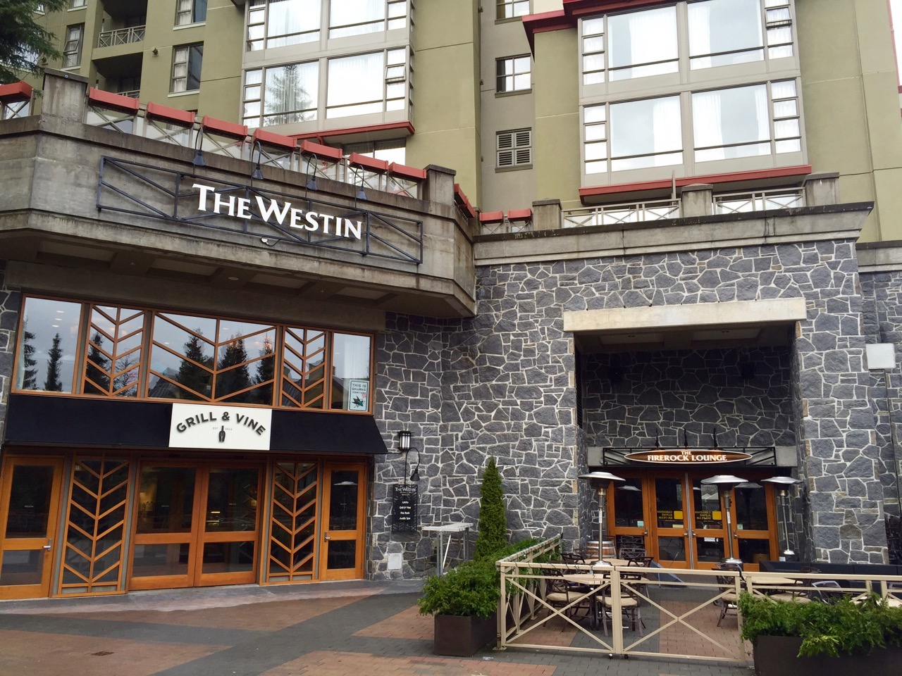 Westin Whistler Grill & Vine | Point Hacks