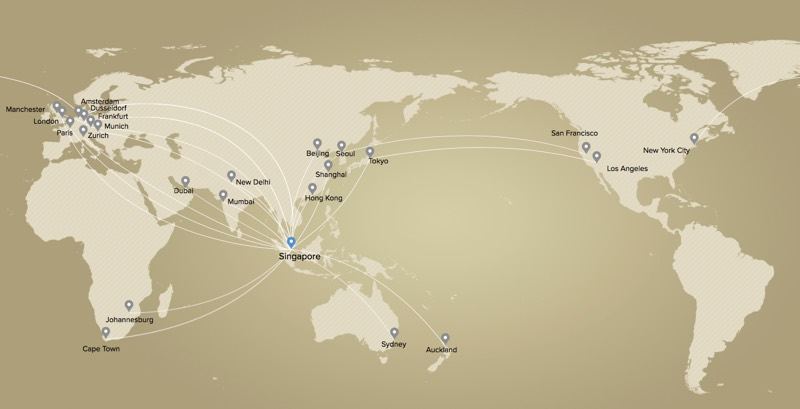Singapore Airlines Premium Economy route map.jpg