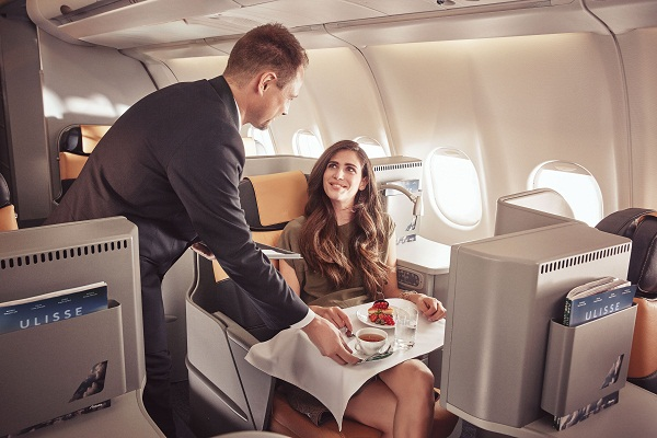 Alitalia Long Haul Business Class 2