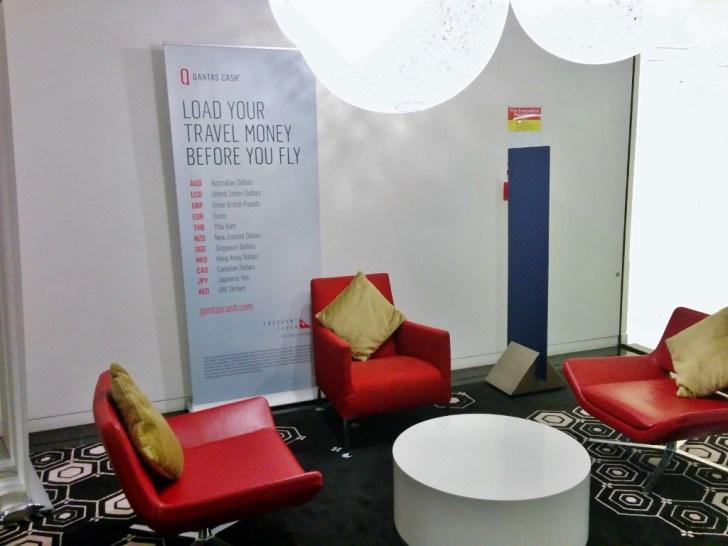 Qantas Auckland Lounge 4