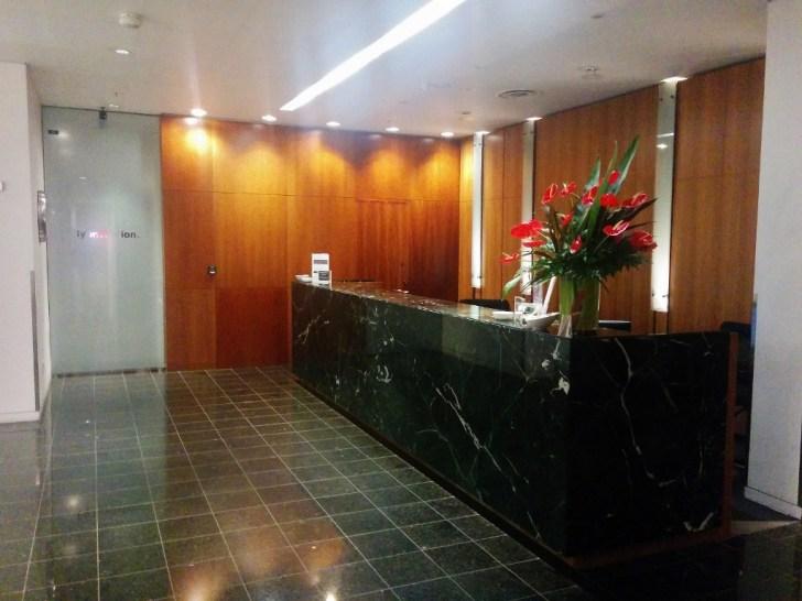 Qantas Auckland Lounge 3