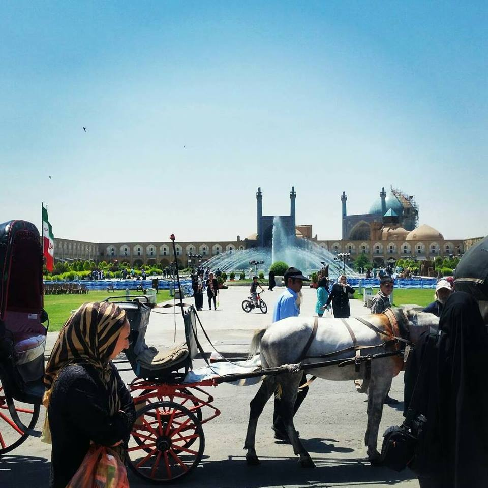 Iran Isfahan Square | Point Hacks