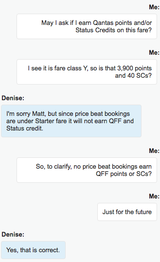 Jetstar Price Beat Guarantee QFF points SCs