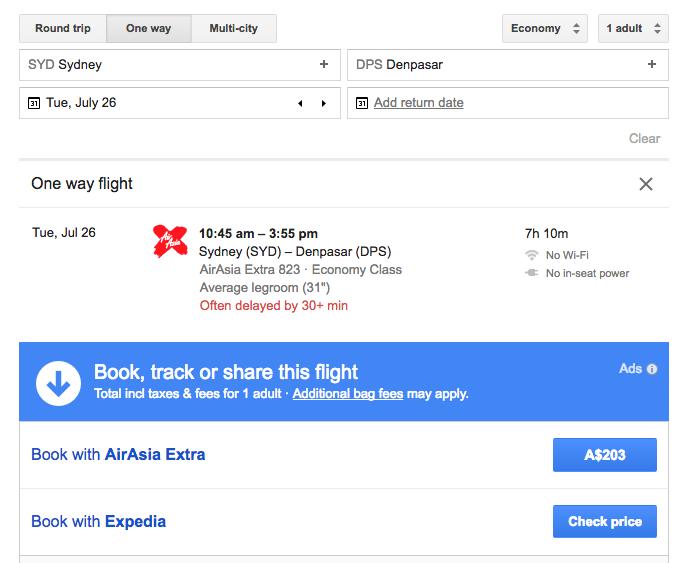 Jetstar Price Beat Guarantee AirAsia clickthrough