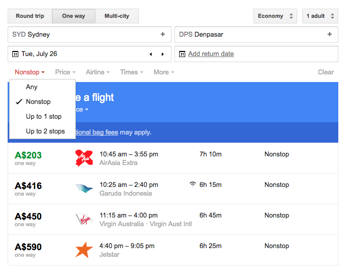 Jetstar Price Beat Guarantee nonstop Google Flights